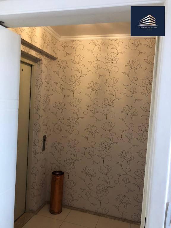 apartamento no condomínio parque clube, 134m², 3 suítes, 2 vagas cobertas, varanda c/ churrasqueira. - ap0703