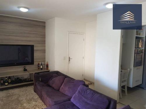apartamento no condomínio parque clube, 92m², 3 dormitórios, 1 suíte, 2 vagas, estuda permuta. - ap0761