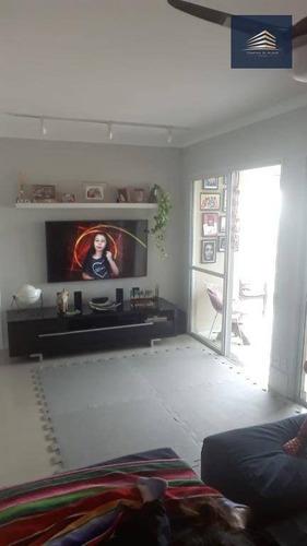 apartamento no condomínio parque clube, 92m², andar alto e vista livre. - ap0371
