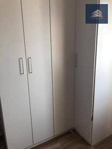 apartamento no condomínio premium guarulhos, 3 dormitórios, 1 suíte, 2 vagas. - ap0733