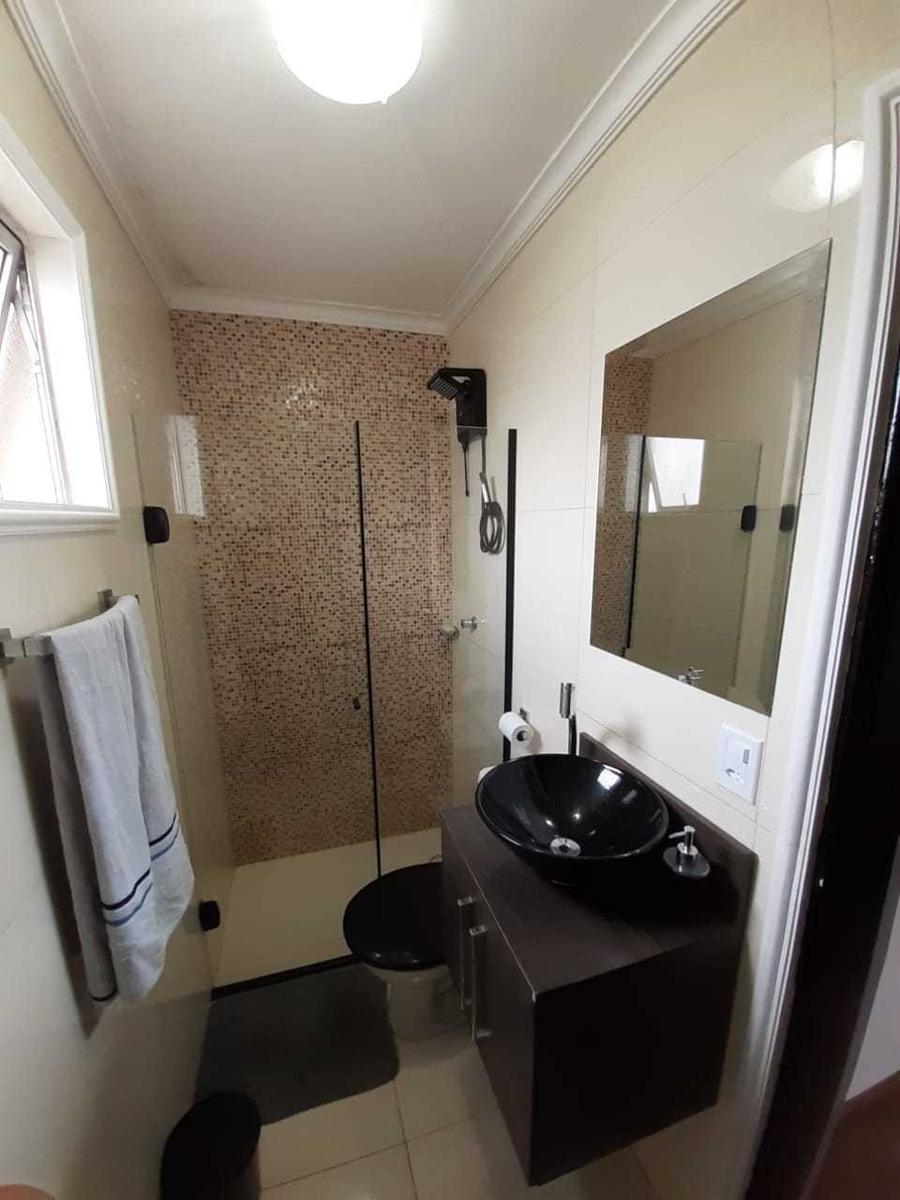 apartamento no condomínio residencial santa bárbara