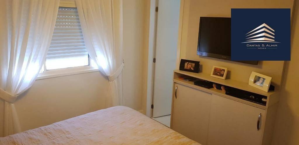 apartamento no condomínio square, 162m², 3 suítes, 3 vagas, aceita permuta. - ap0674