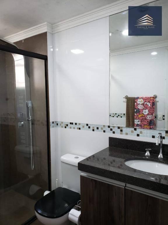 apartamento no condomínio supera, 128m, 3 suítes, 3 vagas, estuda permuta. - ap0827
