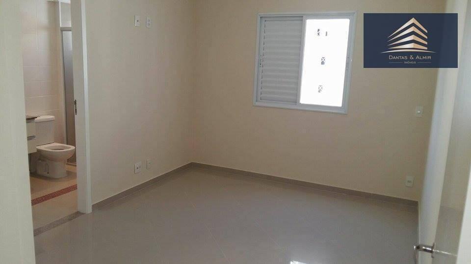 apartamento no condomínio supera, vila augusta, 128m², 3 suítes, 3 vagas. - ap0536