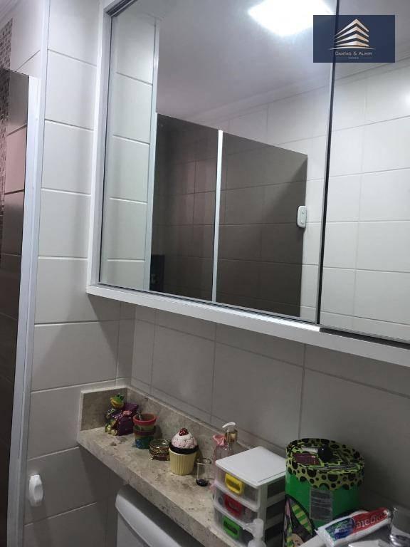 apartamento no condomínio supera vila augusta, 128m², 3 suítes, 3 vagas cobertas. - ap0628