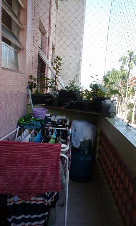 apartamento no coração do gonzaga, com 60 m² e 2 dormitórios - ap1171