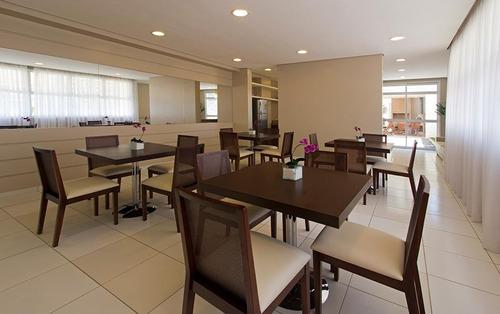 apartamento no dream de 64m² com 2 dormitórios 1 suite, gopouva - ap1163