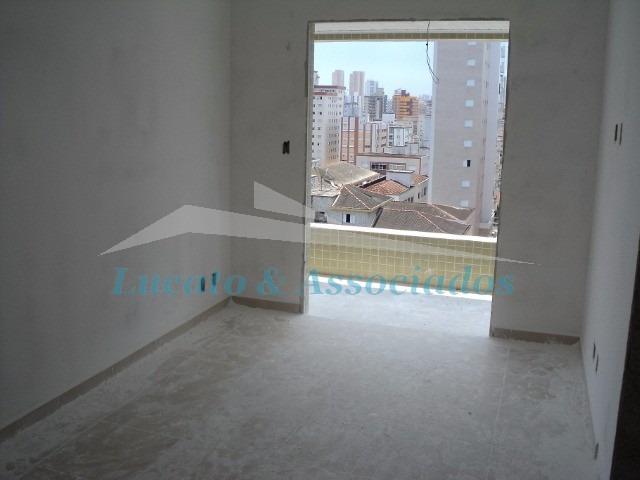 apartamento no forte, 02 dormitórios sendo 02 suítes - ap00619 - 2877749