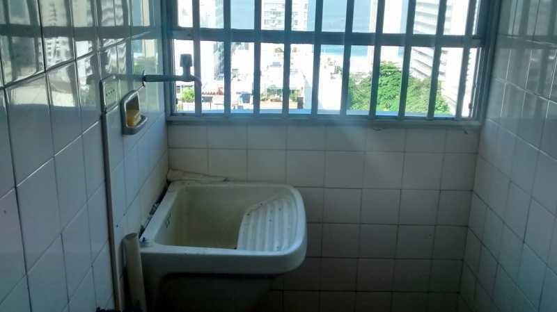 apartamento no leblon com vistão mar com vaga de garagem em frente ao metro!! - cpap10086