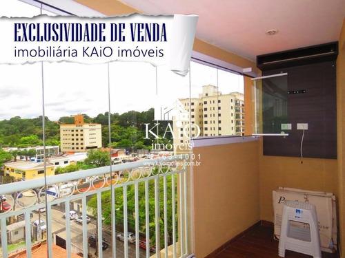 apartamento no maison du bosque de 95m² com 3 dormitórios 2 vagas - ap0704