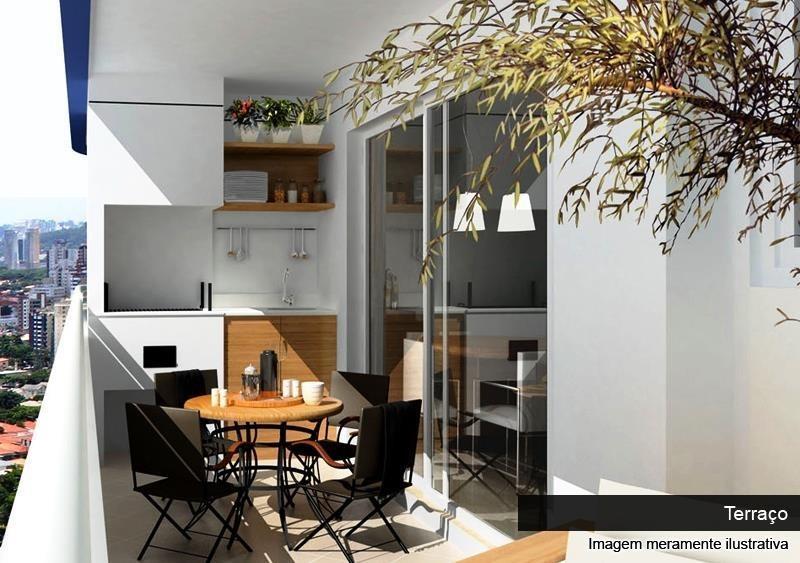 apartamento no massimo de 114m² com 3 dormitórios 3 vagas, jardim zaira - ap0883