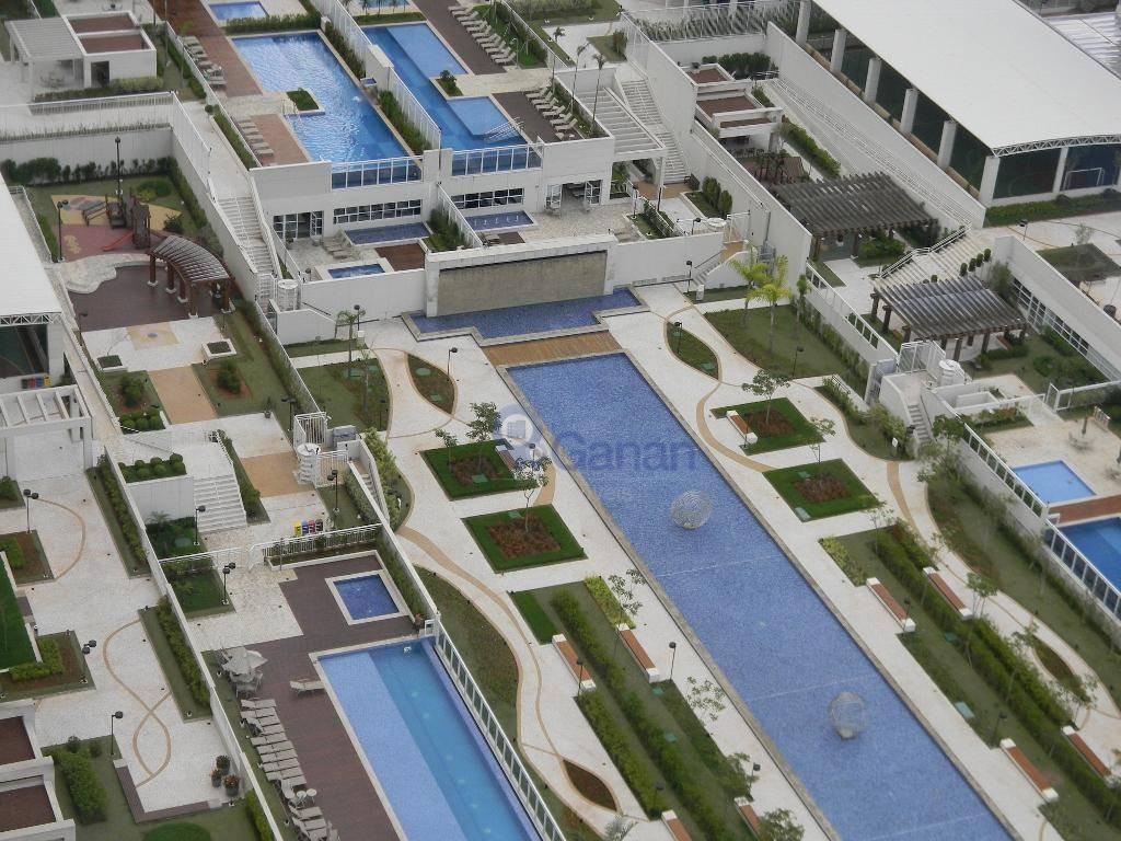 apartamento no novamérica, andar alto , 65 m2, 2 dormts sendo 01 suite e 01 vaga - ap6588