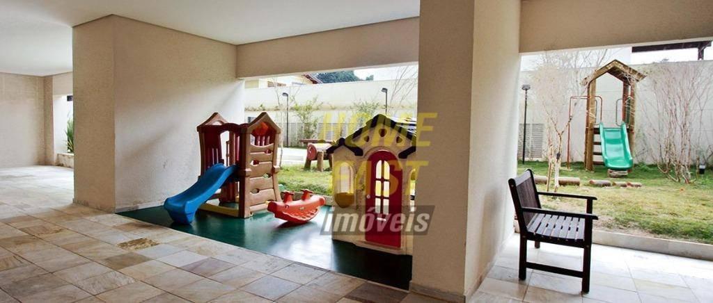 apartamento no parque clube com 3 dormitórios à venda, 134 m² por r$ 900.000,00 - vila augusta - guarulhos/sp - ap1543