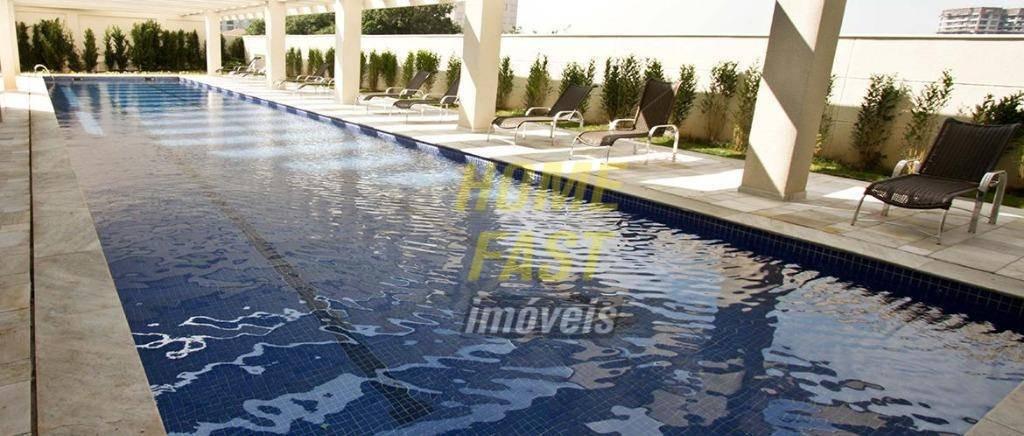 apartamento no parque clube com 3 dormitórios à venda, 134 m² por r$ 950.000 - vila augusta - guarulhos/sp - ap1336