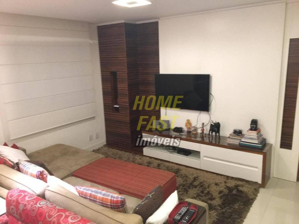 apartamento no parque clube com 3 dormitórios à venda, 151 m² por r$ 1.100.000 - vila augusta - guarulhos/sp - ap1272