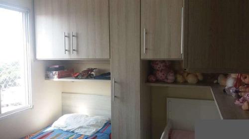 apartamento no parque edú chaves com 2 dormitórios, sala com sacada envidraçada - 170-im320854