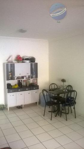 apartamento no planalto com 2 quartos, sendo um suíte, em ótima localização - residencial santana - ap0058