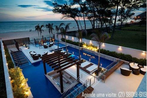 apartamento no recreio, 2 quartos, ocean, com clube de praia