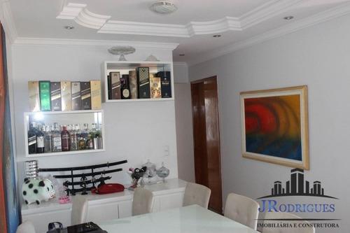 apartamento no residencial eldorado de 3 quartos c/ armários