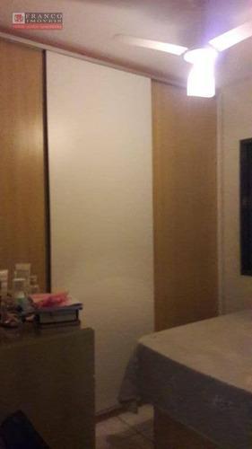 apartamento no residêncial alvorada i - ap0166