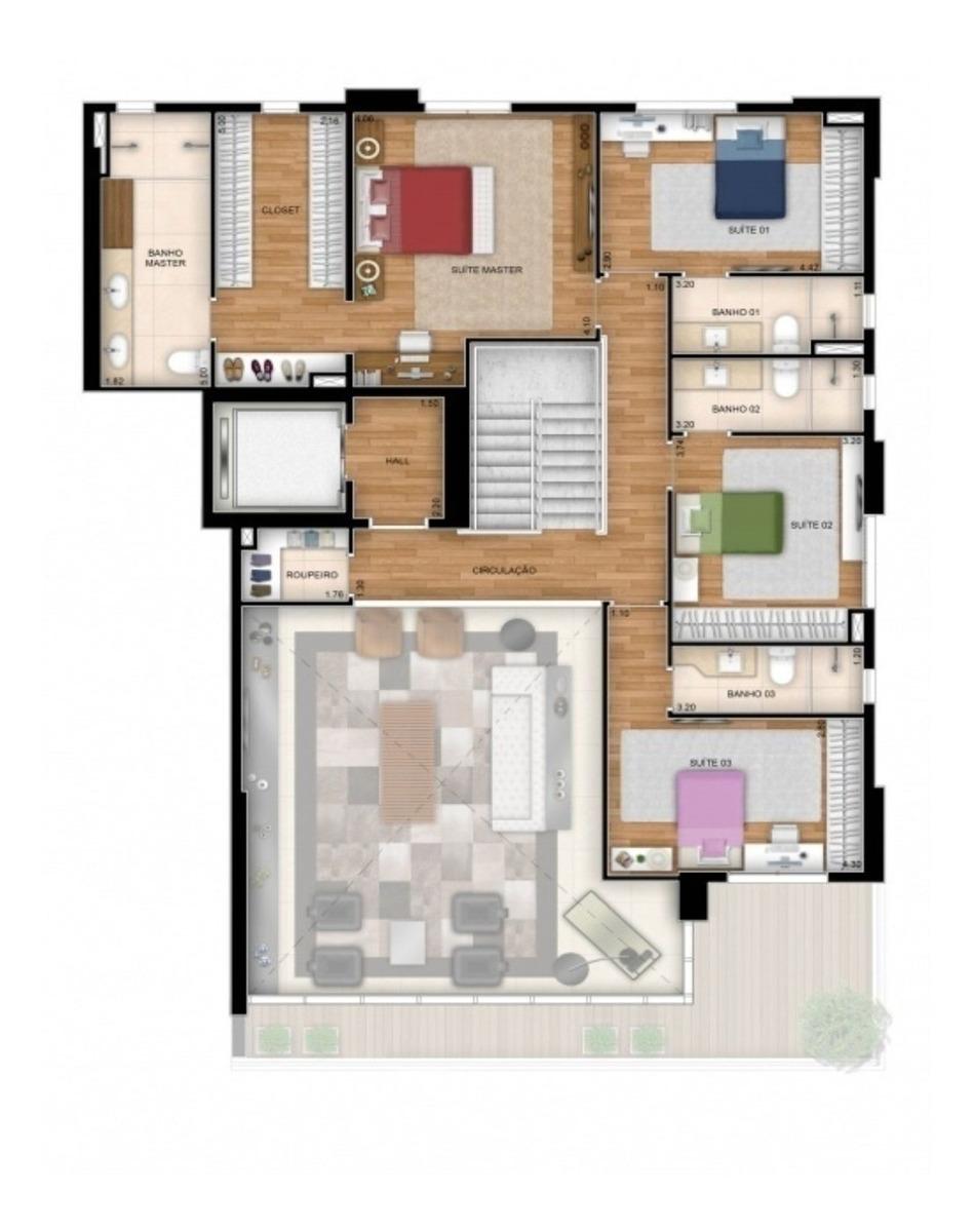 apartamento no setor marista - 4186 - 32202864