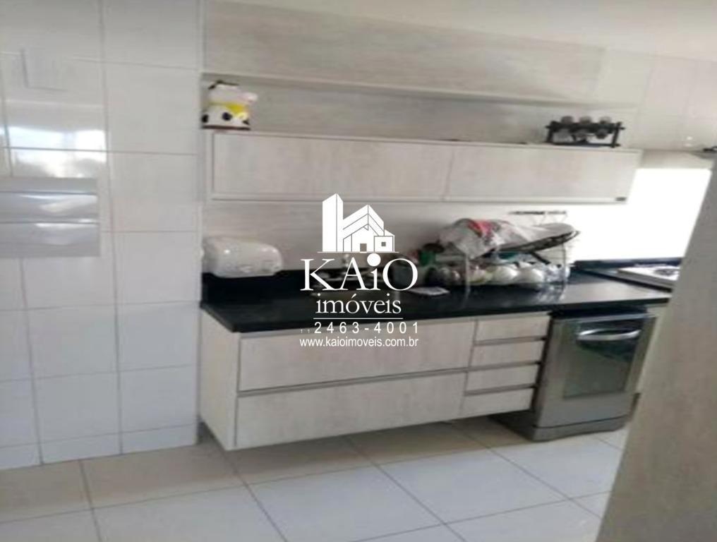 apartamento no square de 134m² com 3 dormitórios 2 vagas, macedo - ap0940