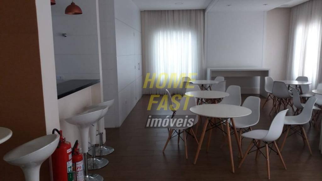 apartamento no supremo com 3 dormitórios à venda, 95 m² por r$ 650.000 - vila augusta - guarulhos/sp - ap1327