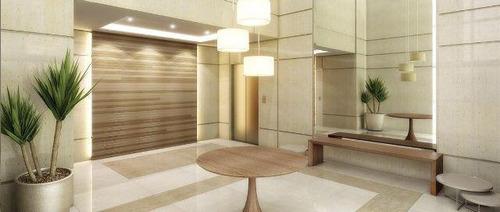 apartamento no taquaral de 130m² com 3 dormitórios- 1º andar