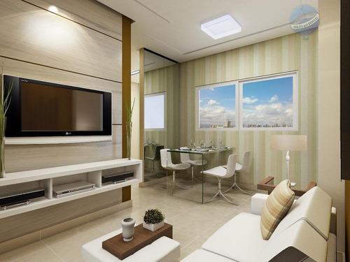 apartamento no tirol, com 2 quartos, sendo um suíte - solar nabor maia - ap0026
