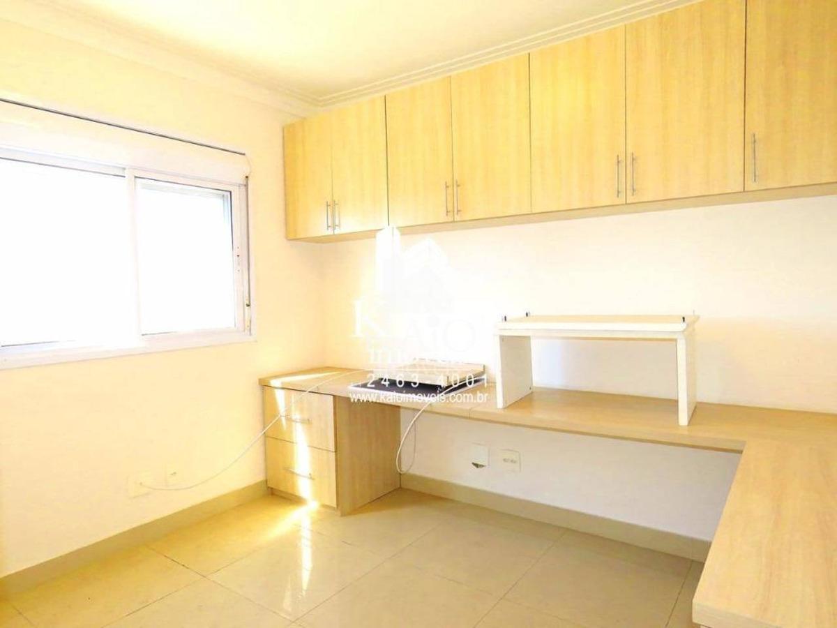 apartamento no varandas com 3 dormitórios, 124m² 780mil