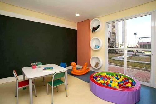apartamento no ventura de 63m² com 2 dormitórios, lazer completo, centro - ap1182