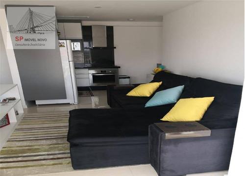 apartamento no you now chácara santo antônio, 1 dormitório, 37m²- chácara santo antônio - são paulo/sp - ap13557
