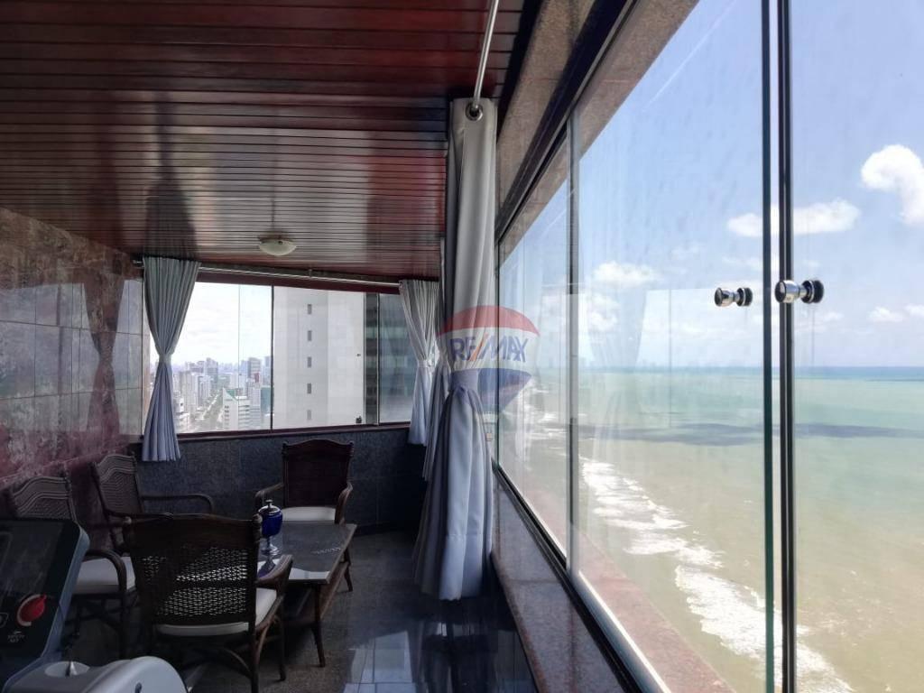 apartamento nobre com vista fantástica para o mar - ap1130