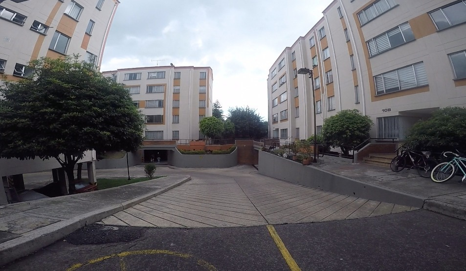 apartamento normandia occidental, residencial, parqueadero