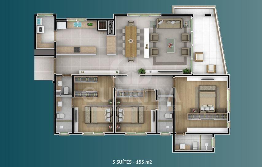 apartamento - nossa senhora das gracas - ref: 141222 - v-141222