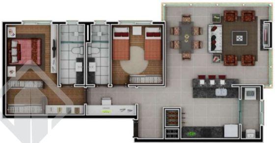 apartamento - nossa senhora das gracas - ref: 143681 - v-143681