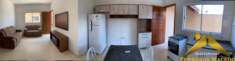 apartamento novo 2 dorm. gaivota - ap00021 - 34720044