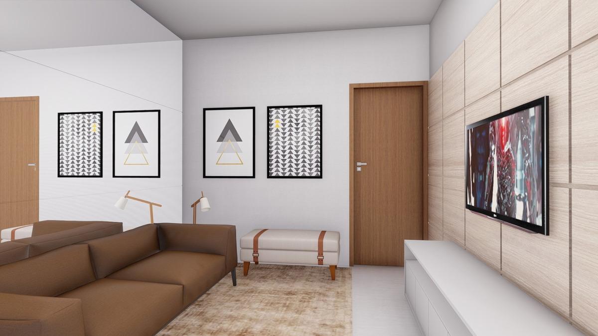 apartamento novo 2/4 suite, elevador, varanda gourmet, vaga!