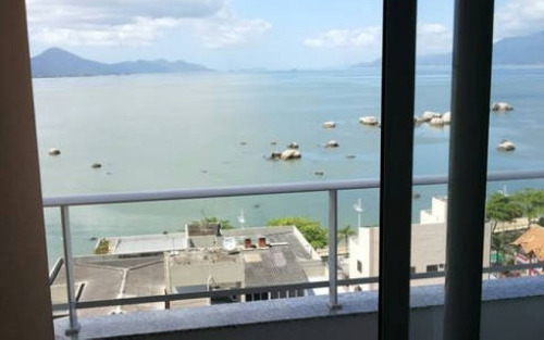 apartamento novo 4 dormitórios e 2 vagas com vista para o mar em coqueiros
