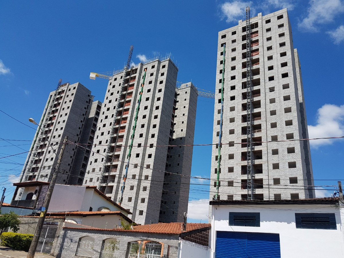 apartamento novo 72,38 m² - sorocaba-sp 2d, 2 gar. cobertas