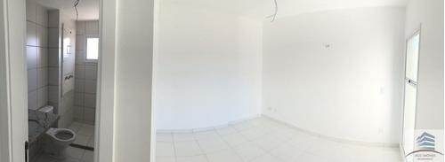 apartamento novo a venda no residencial ibiza capim macio