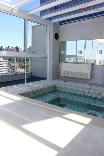 apartamento novo com 2 dormitórios e 1 vaga no bairro petrópolis - ap0657