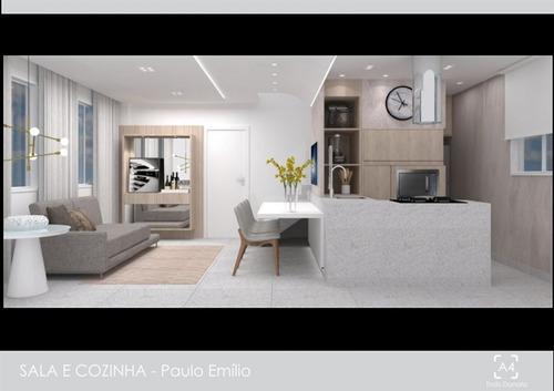 apartamento novo com 2 quartos e área privativa no bairro anchieta. - 1706
