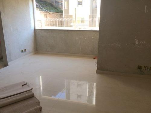 apartamento novo com 2 quartos e área privativa no bairro sion. - 1221