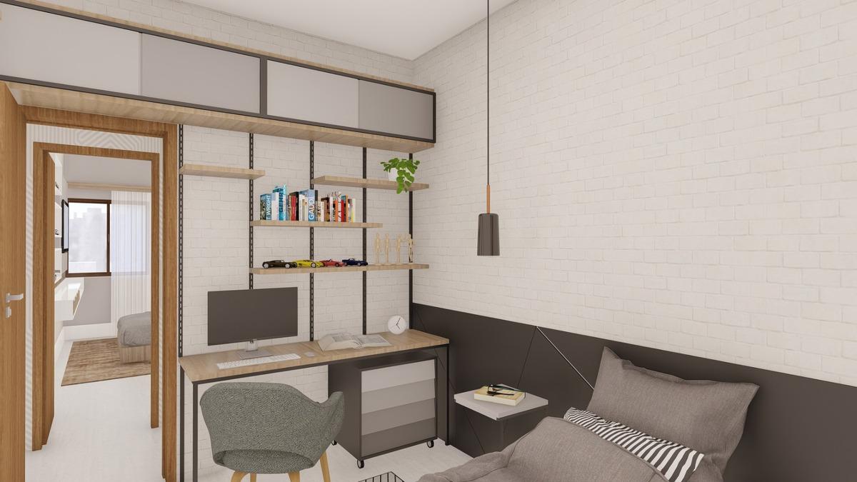 apartamento novo com 2/4 suite, elevador, varanda gourmet!