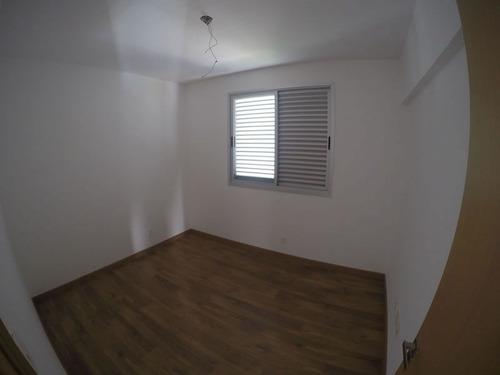 apartamento novo com 4 quartos e área privativa no bairro sion. - 1215