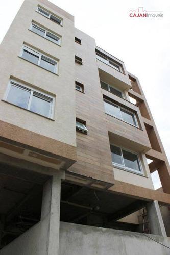 apartamento novo de 1 dormitório com vaga em petrópolis - ap2009