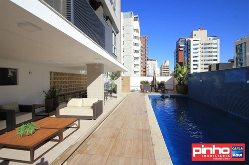apartamento novo de 2 dormitórios (sendo 2 suítes), smart hoepcke miguel h. daux, locação, bairro centro, florianópolis, sc - ap00997