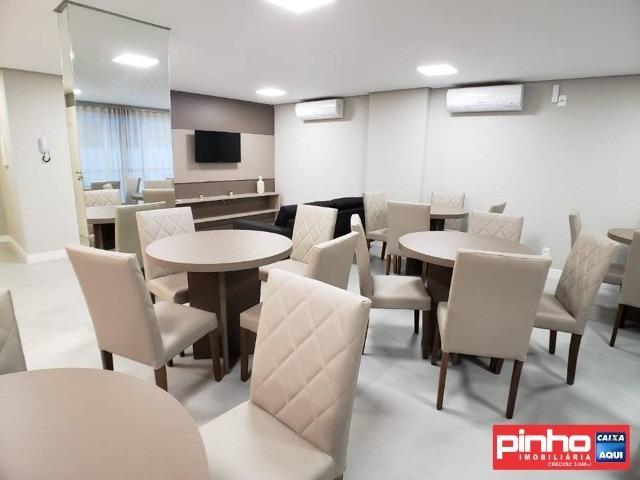 apartamento novo de 2 dormitórios (suíte), para venda, bairro praia de palmas do arvoredo, governador celso ramos, sc - ap00834
