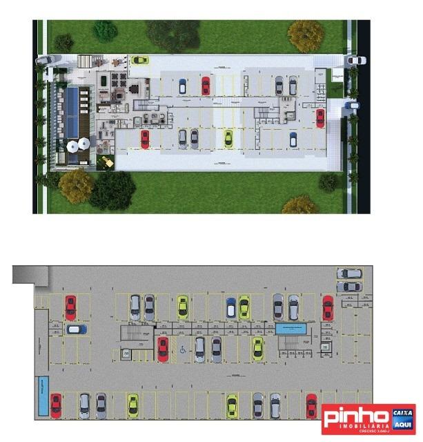 apartamento novo de 3 dormitórios (01 suíte e 02 demi-suítes), para venda, bairro praia de palmas do arvoredo, governador celso ramos, sc - ap00835